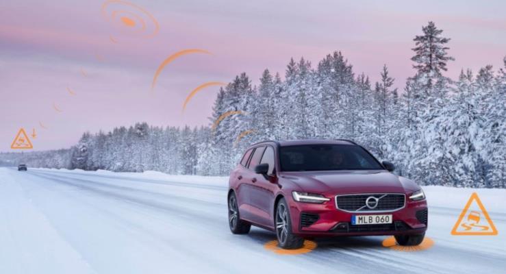Volvo Otomobiller Birbirleriyle İletişim Kuracak