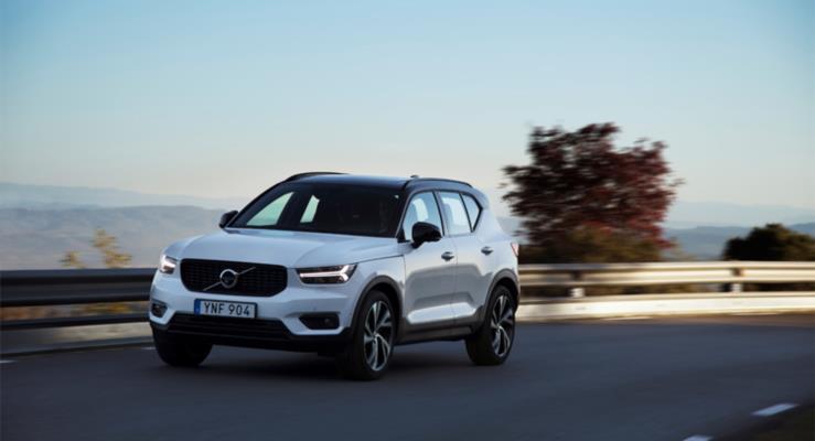 Volvo XC40 modeline olan yüksek talebi karşılamak için üretimi artıracak