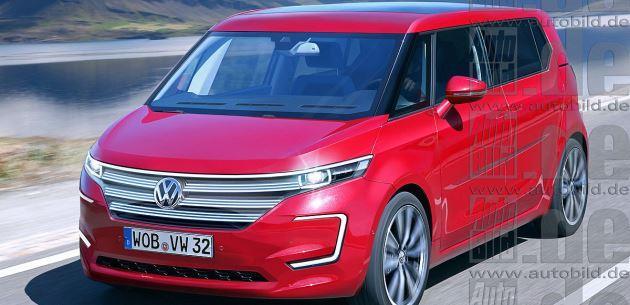 Vw E Bulli >> VW E-Bulli konseptinden 3 boyutlu çizimler