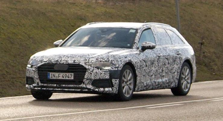 Yeni 2018 Audi A6 Avant yollarda ilk kez görüldü