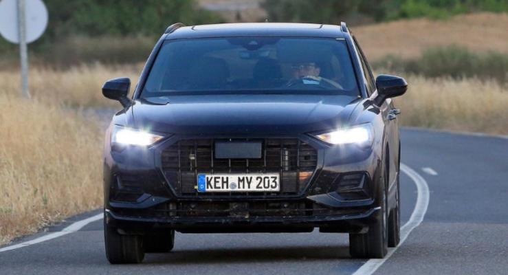 Yeni 2018 Audi Q3 SUV kamuflajsız görüntülendi