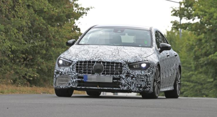 Yeni 2019 Mercedes-AMG CLA 45 görüntülendi