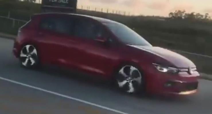 Yeni 2020 VW Golf Mk8 Güney Afrika'da görüntülendi