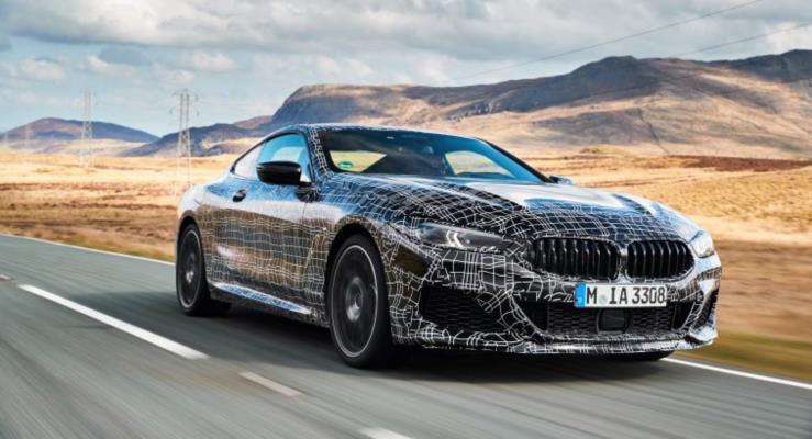Yeni BMW 8 Serisi Coupe test ediliyor