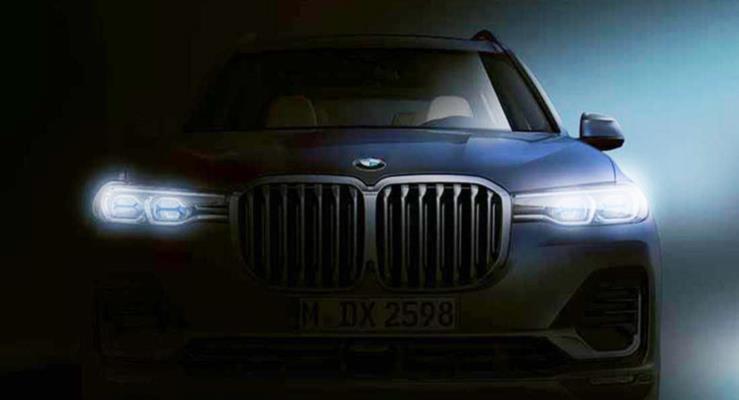 Yeni BMW X7'ye ilk bakış