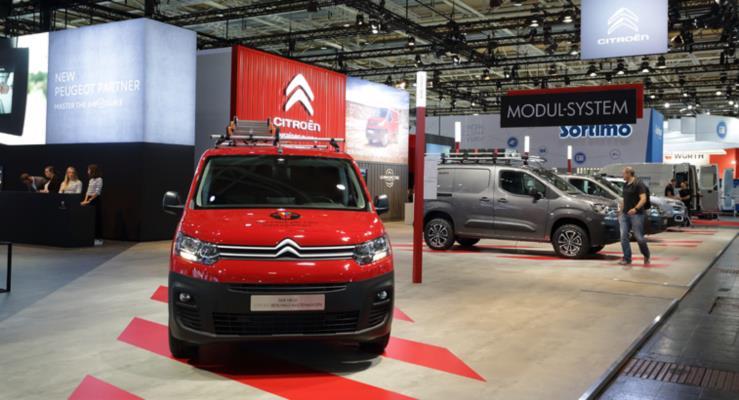 Yeni Citroen Berlingo Van 2019 Uluslarası Yılın Ticari Aracı Ödülü