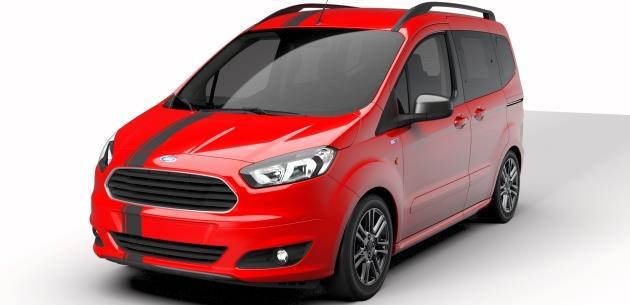 Yeni Ford Tourneo Courier Blackline Fiyatı Belli Oldu