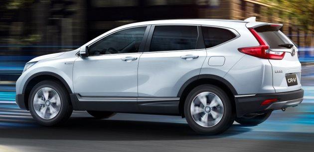Yeni Honda CR-V Hybrid SUV Şanghay'da tanıtıldı