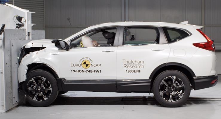 Yeni Honda CR-V'ye EuroNCAP'ten 5 Yıldız