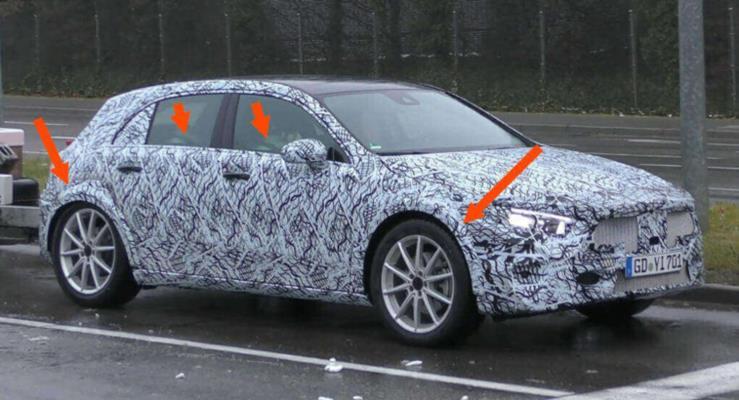 Yeni Mercedes-Benz GLA'yı mı görüyoruz?