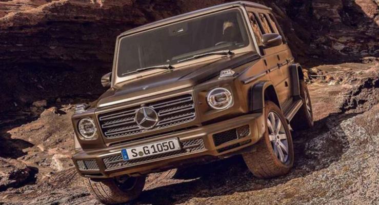 Yeni Mercedes G-Serisi fotoğrafları internete sızdırıldı