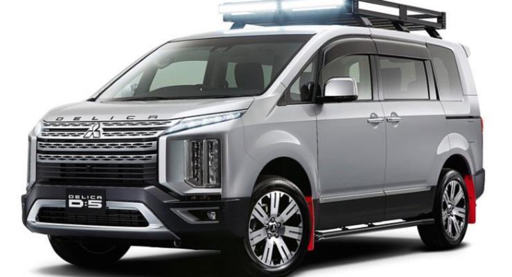 Yeni Mitsubishi Delica D:5 minivan ile çocukları pikniğe götürün
