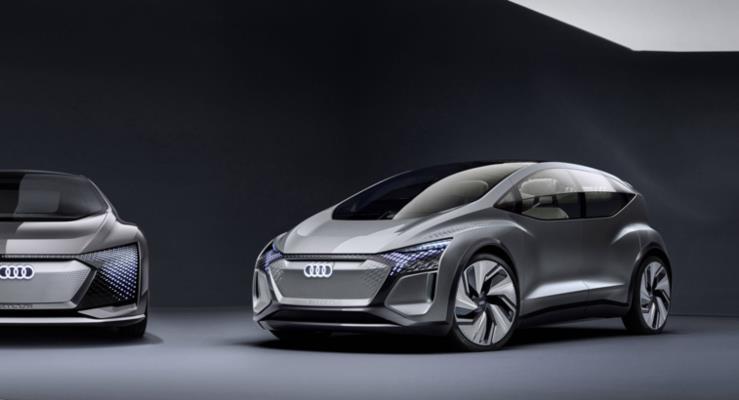 Yeni nesil Elektrikli Şehir Otomobili Audi AI: ME