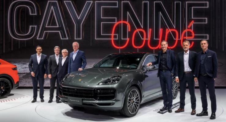 Yeni Porsche Cayenne Coupe tanıtıldı
