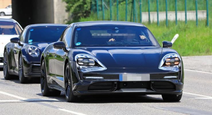 Yeni Porsche Taycan'dan Sürpriz Detaylar