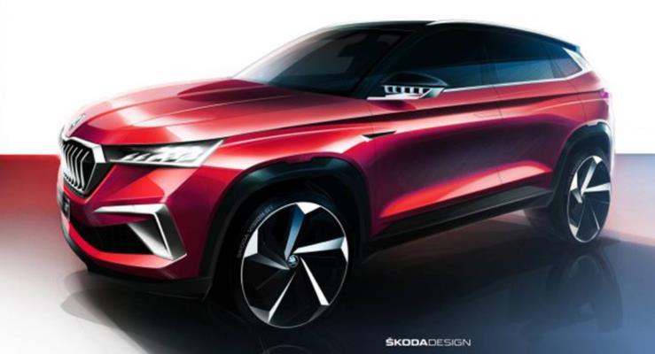 Yeni Skoda Vision GT Şangay'da Ortaya Çıktı
