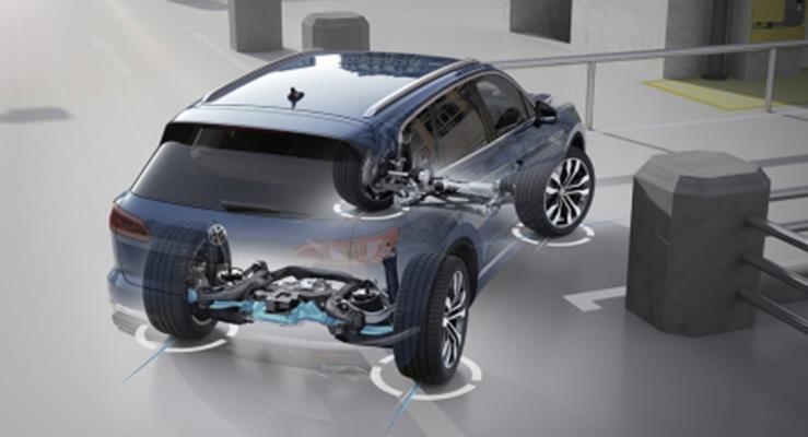 Yeni Touareg'in teknolojik özellikleri – 2: Dört çekişli sürüş sistemi