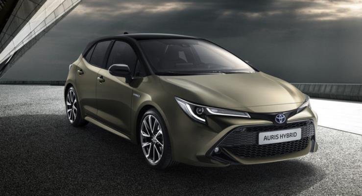 Yeni Toyota Auris Avrupa'da Corolla adıyla çıkacak