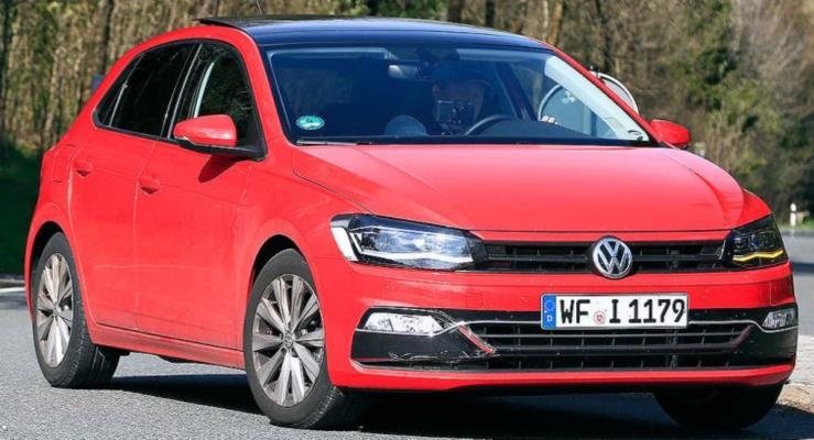 Yeni VW Polo hafif kamuflaj ile göründü