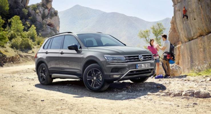 Yeni VW Tiguan Offroad Moskova'ya geliyor