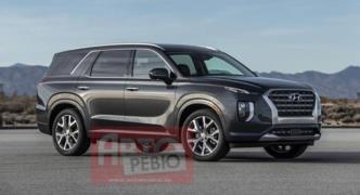 2020 Hyundai Palisade SUV'den ilk resmi fotoğraf