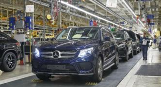 ABD üretimi Mercedes SUV'ler Çin gümrüğünde bekletiliyor