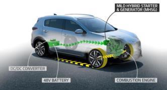 Dizel yarı hibrit Kia Sportage bu yıl, Ceed 2019'da geliyor