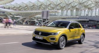 Volkwagen'in yeni SUV'u T-Roc showroomlarda yerini aldı
