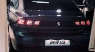 Yeni Peugeot 508'den ilk resmi fotoğraf